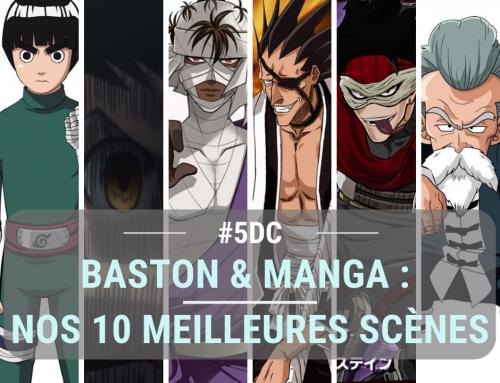 Baston & Manga : nos 10 meilleures scènes – La 5e de Couv' – #5DC – Saison 4 Episode 13