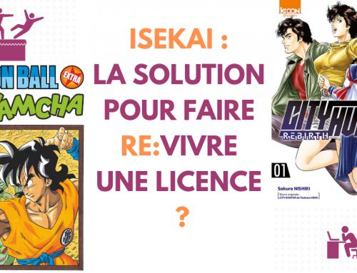 ISEKAI : La solution pour faire re:vivre une licence ? – La 5e de Couv' – #5DC – Saison 4 Episode 15