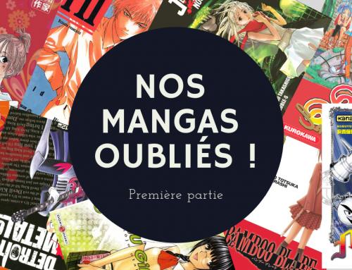 Nos mangas oubliés, partie 1 – La 5e de Couv' – #5DC – Saison 4 Episode 17
