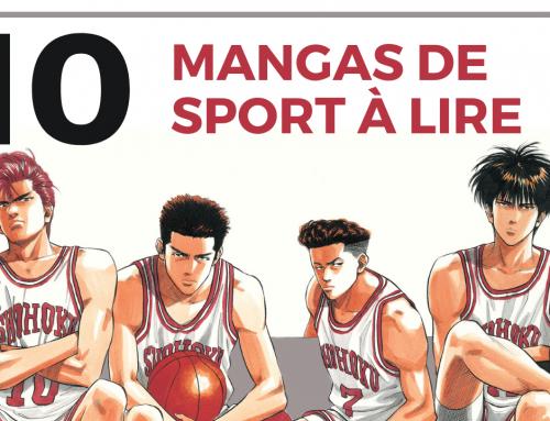 Nos 10 mangas de sport favoris – La 5e de Couv' – #5DC – Saison 4 Episode 21