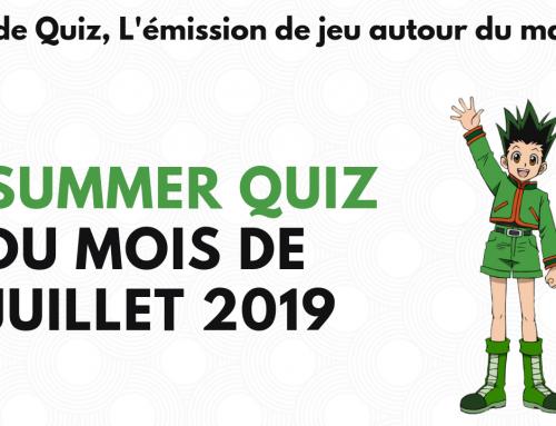 Summer quiz du mois de juillet – La 5e de Quiz – #5DC – Episode 18