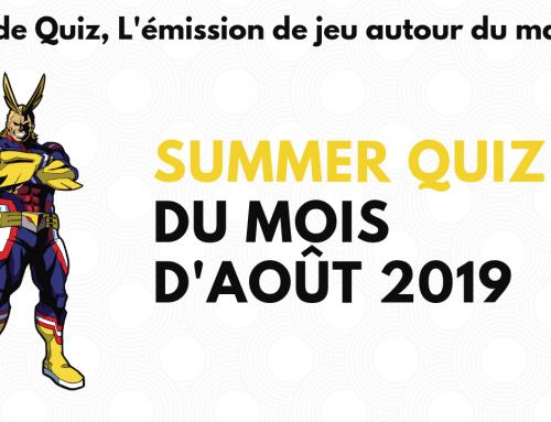 Summer quiz du mois d'aout – La 5e de Quiz – #5DC – Episode 19