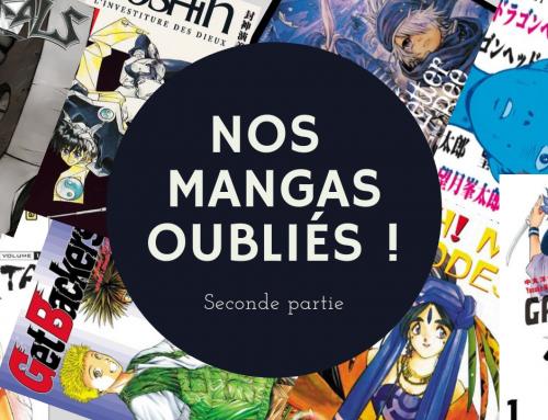 Nos mangas oubliés (partie 2) – La 5e de Couv' – #5DC – Saison 5 Episode 3