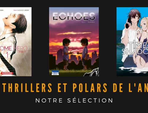 Les polars et thrillers de l'année, notre sélection manga – La 5e de Couv' – #5DC – Saison 5 Episode 5